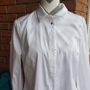 Bebe white shirt